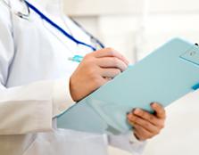 診療実績の写真