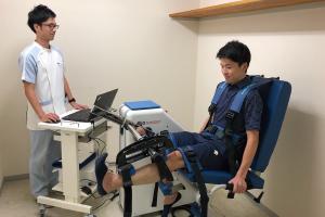 筋力検査の実施