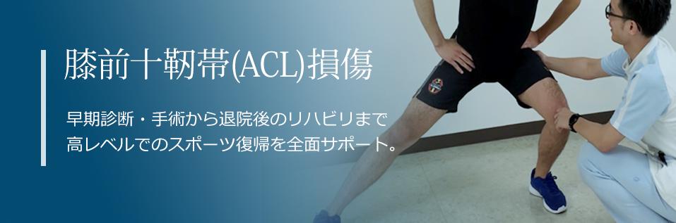 膝前十字靭帯(ACL)損傷